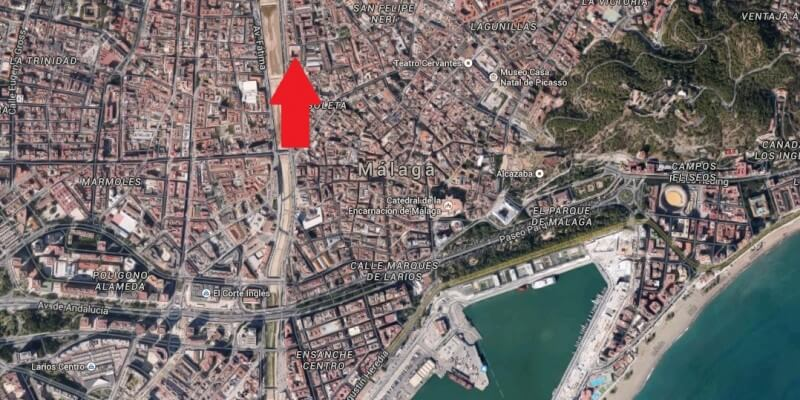 Lage Calle Mariscal